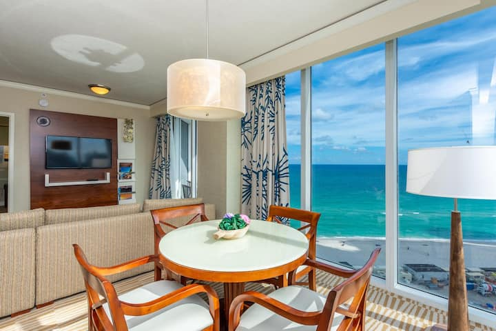 Trump Ocean front 1100sf 1 Bd 1Bth Private Owned