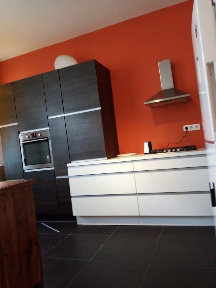 Furnished flat for rent Parvis de Saint Gilles