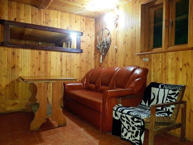 Дом  на сутки с баней.