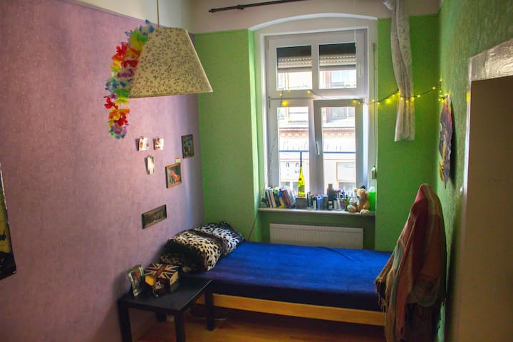 Cozy room at the very center of Poznań