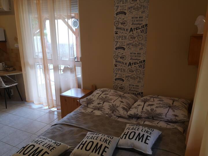 A pihenés alapja egy kényelmes apartman. Blanka.