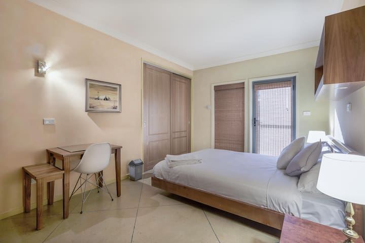 Bedroom3 - spacious with working table
