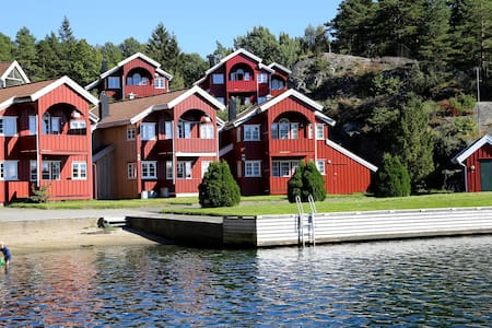 Holiday apartment by the sea nearby Kristiansand - Søgne