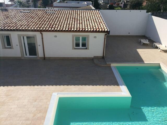 Archiammare, sea & pool, alloggio SABBIA
