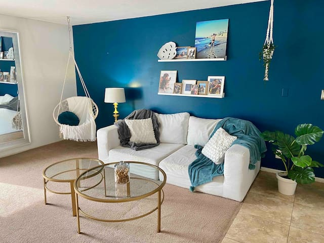 Stylish yet modest coastal luxury