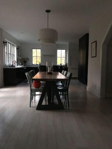Open Plan Kitchen-Dining