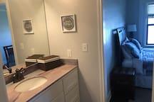 Second bedroom vanity area