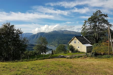 The sheepfarm at the end of the road - Ulvik