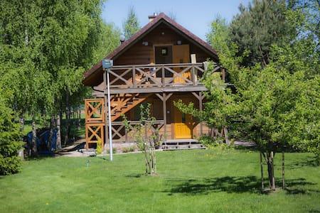 Apartament Osowa nad jeziorem Okmin dla 2 osób