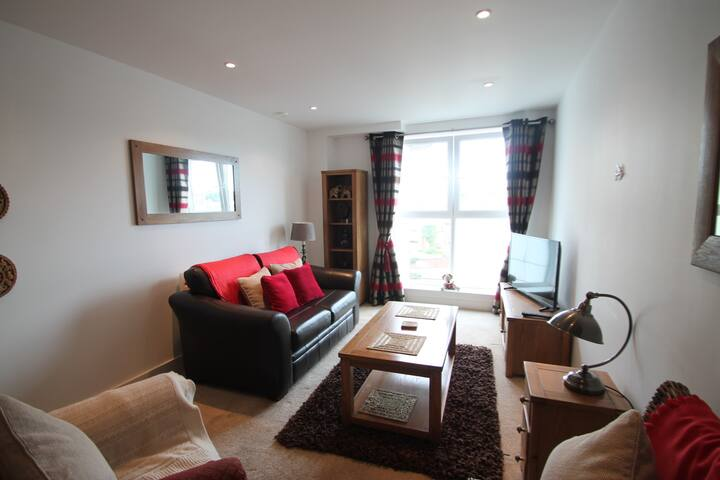 Cosy One Bedroom Apartment, Ipswich Marina