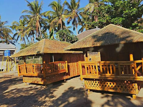 Native hut on a remote island
