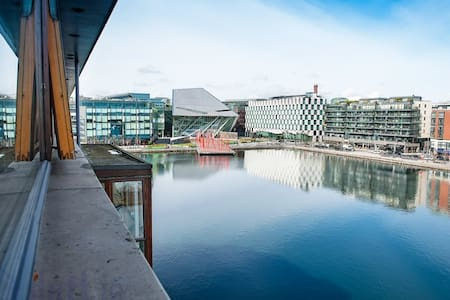 Stunning view over Grand Canal Dock - Dublin - Lejlighed