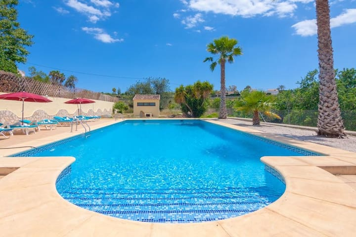 Holiday cottages Benimarco 12 - Teulada - House