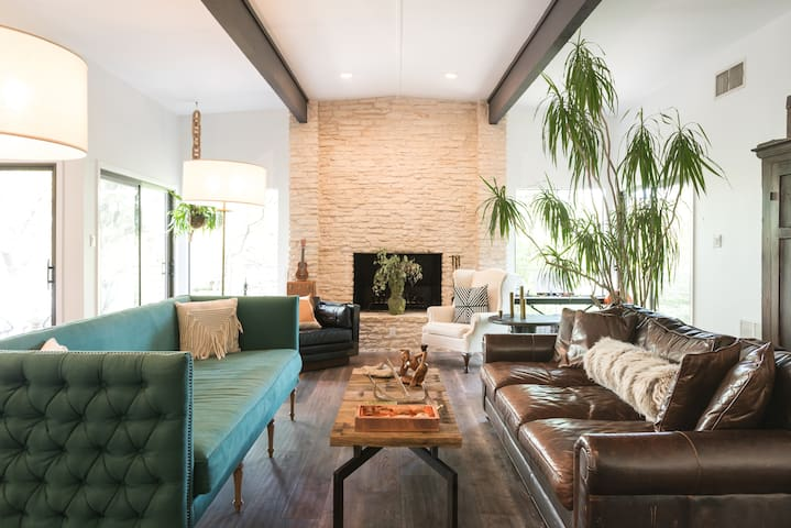 Walk to Barton Springs from a Designer Home