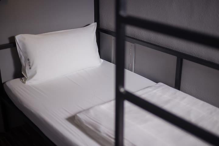 近夜市 2人上下雙床房附私人衛浴C