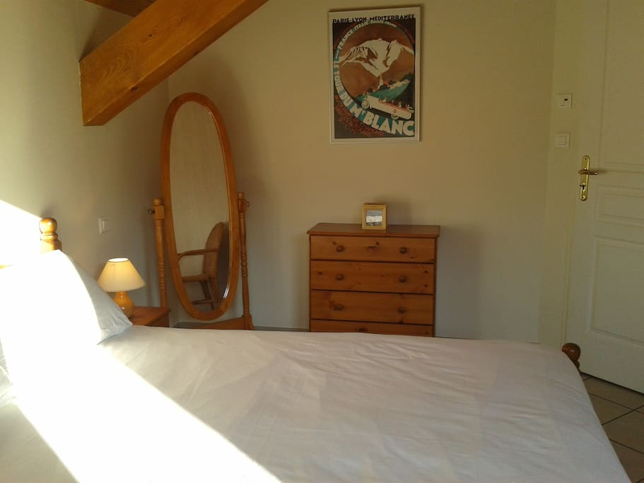 """Bedroom 1, inc 150cm """"Queen-size"""" bed ans access to our balcony"""