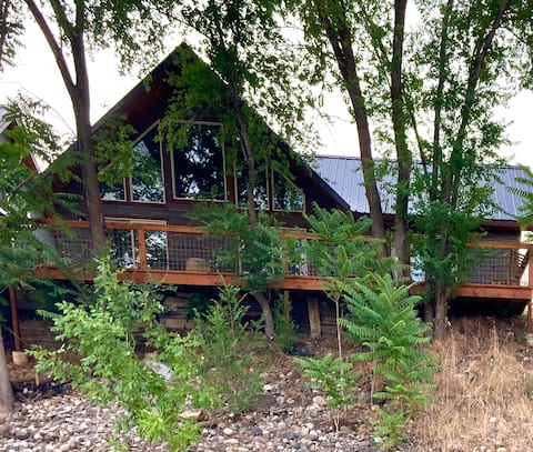 Salmon River Home With A View