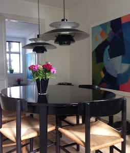Beautiful apartment in the heart of Copenhagen - København - Apartment