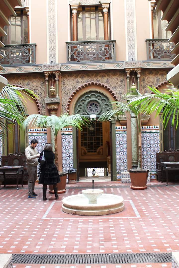 Moorish palace in the heart of Lisbon.