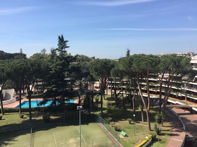 Super attico Eur immerso nel verde - Roma - Apartment
