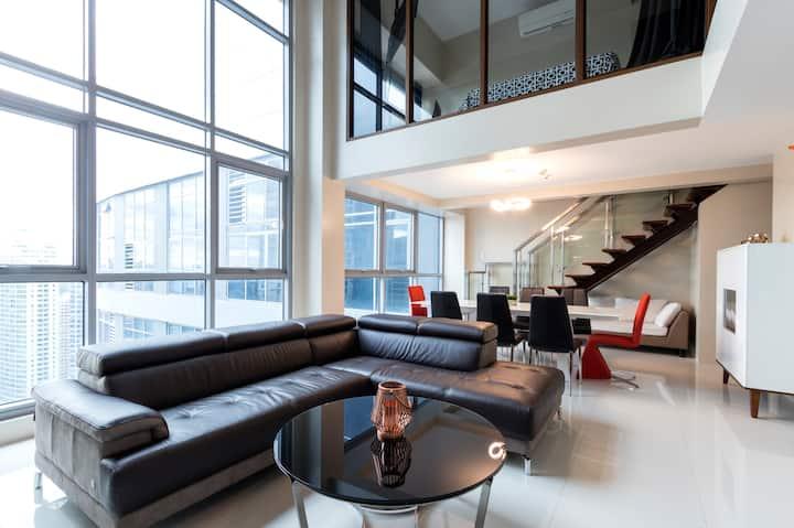 2 Bedroom Loft Penthouse unit in Eastwood City QC