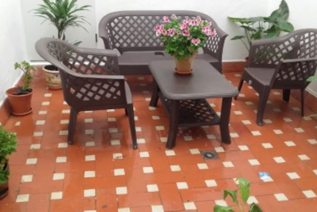 Patio al aire libre