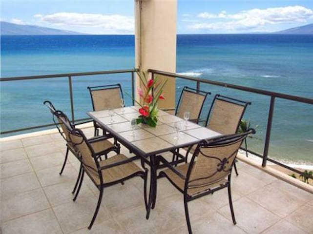 Spring Break-Maui Getaway-Beach Front Large 3 BDM - Lahaina - Condominium