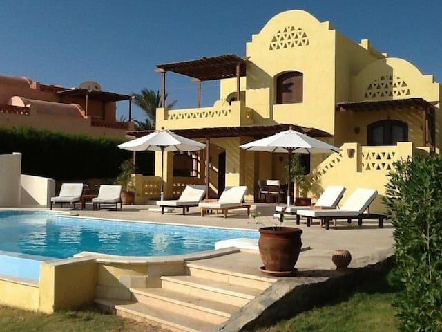 "Amazing 4 Bedrooms Villa in El Gouna ""L"""
