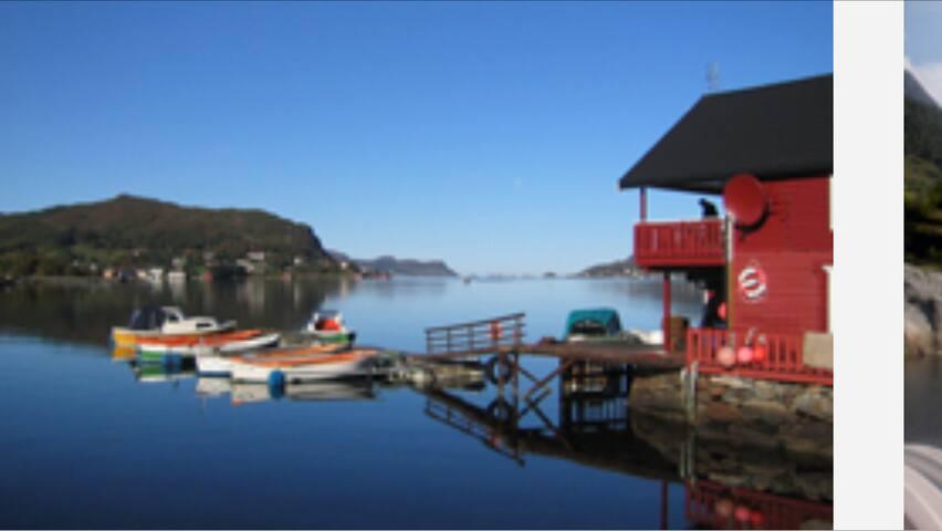 Kysthytte - Fosnavåg - Blockhütte