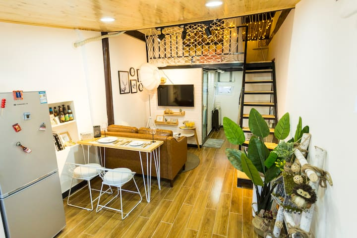 Cozy Hutong house located in  Nanluoguxiang