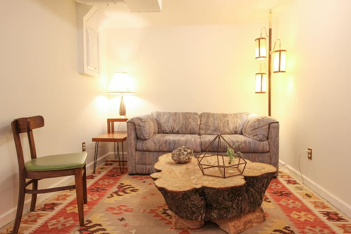 Guest sitting area