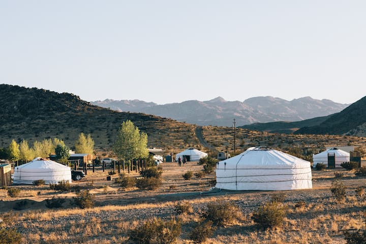28 Palms Ranch Stargazing Yurt #2