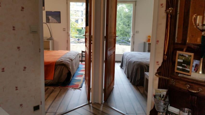 maison éléphant 1er chambre double - Marly-le-Roi - Casa