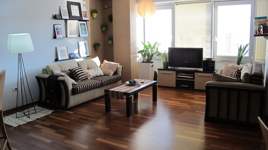 Centric modrn apt (parkng possible) - Tirana