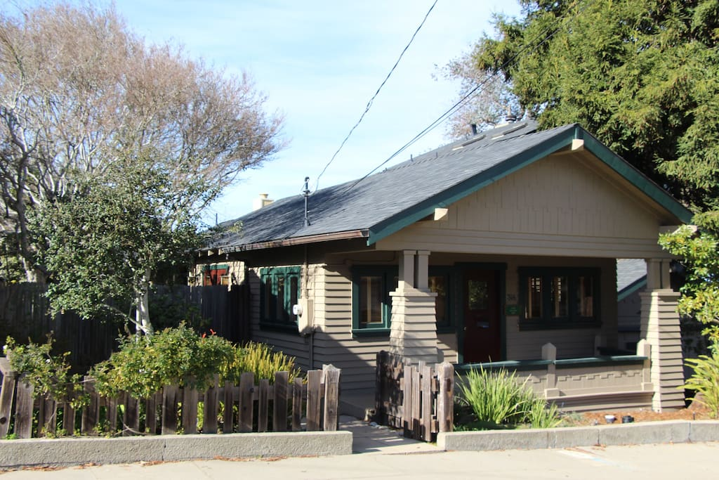 Located on a quiet residential street just a couple blocks from everything in downtown Pacific Grove!