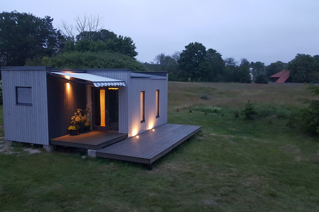 Compact but fully equipped vacation house for a weekend runaways