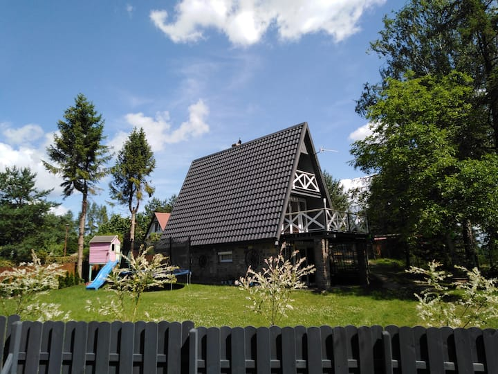 Dom na Kaszubach Grygielówka
