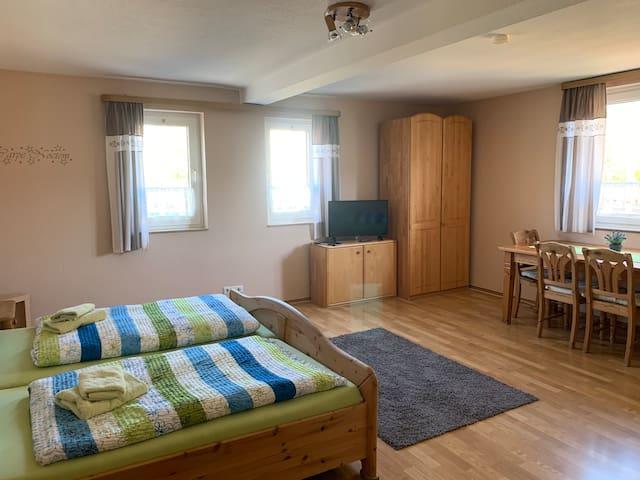 Gemütliches Appartement für bis zu 3 Personen