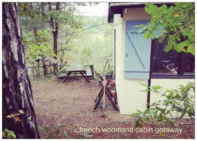 Woodland Cabin with own Forest - Thenon