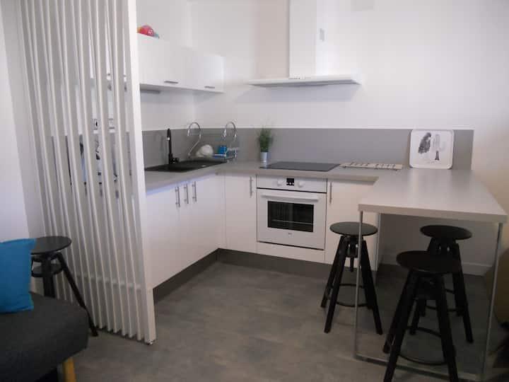Appartement avec terrasse et vélos