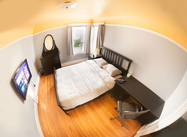 Private Furnished Spacious Room - San Francisco - Huis