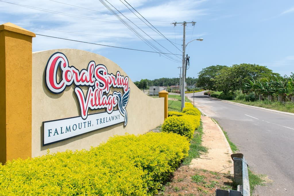 Entrance to Our Place Inn Trelawny