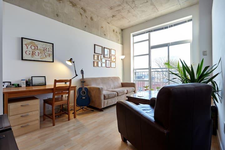 Bright, Beautiful Loft - Queen West - Toronto - Apartment
