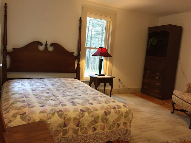 Cozy/Clean/Homey/Room in Centre MA - Shutesbury - Bed & Breakfast