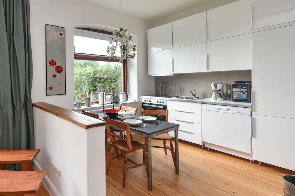 Organische Architektur - Küche