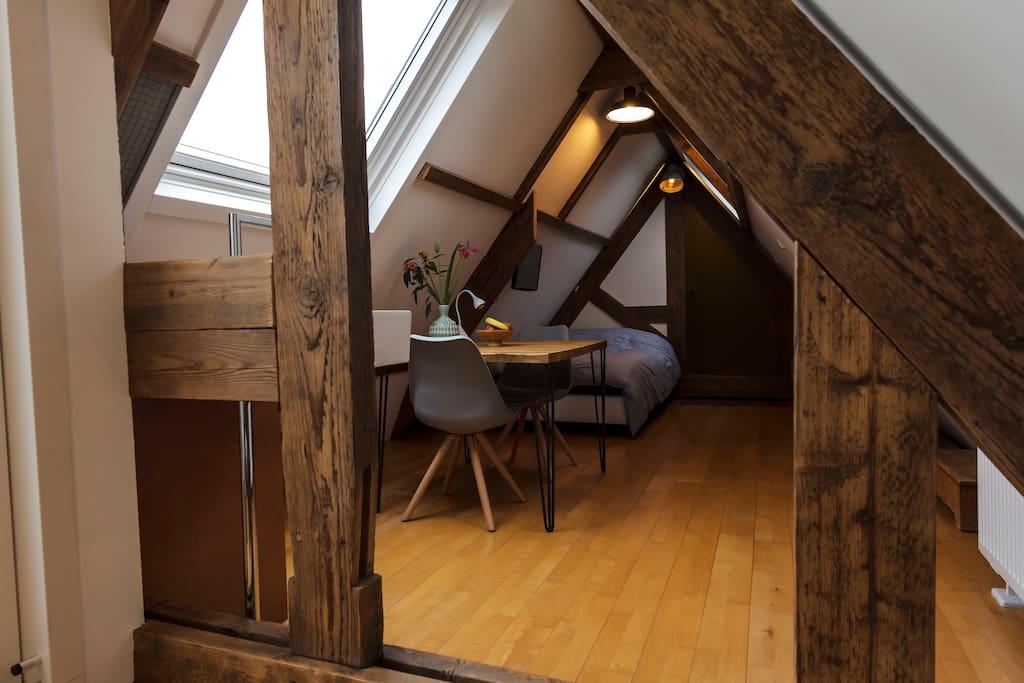 attic / studio
