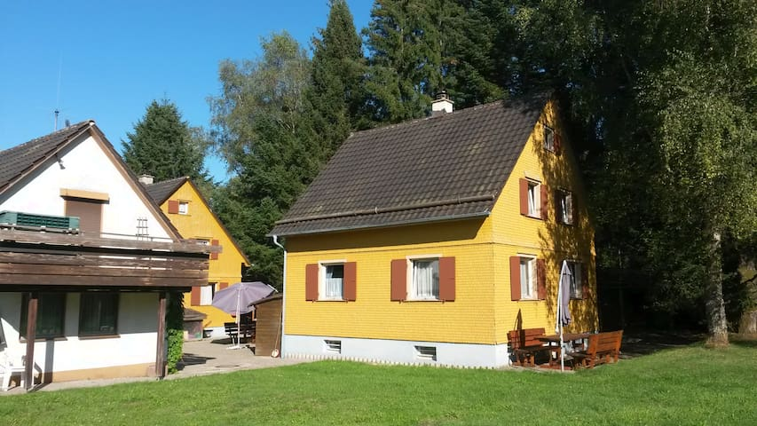 Ferienhaus im Naturschutzgebiet Höwenegg
