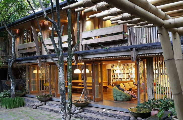 A Bamboo House A of Awiligar Bandung, West Java