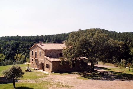 Apartment in farmhouse  between the sea and Siena - Roccastrada - Lakás