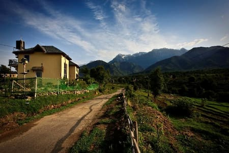 Seclude Palampur - Yellow Room - Palampur - Bed & Breakfast